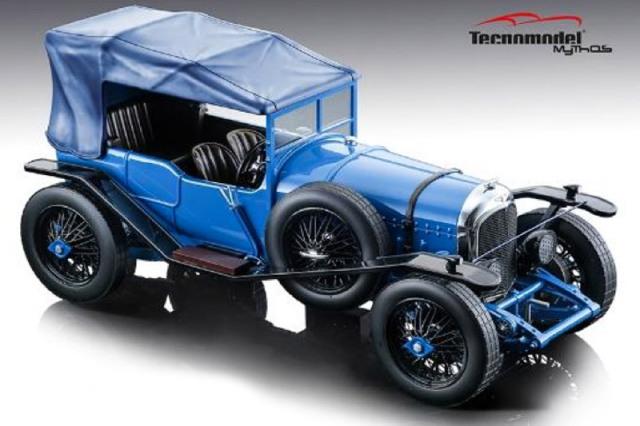 [予約] テクノモデル 1/18 ベントレー 3L ストリートバージョン グロスブルー (ルーフ付) T18-204C