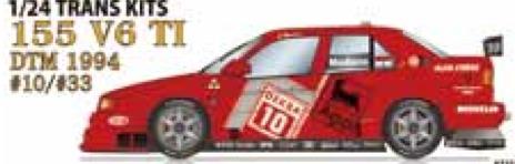 スタジオ27 1/24 トランスキット アルファロメオ 155 V6 T1 DTM 1994 No.10/33 TK2470