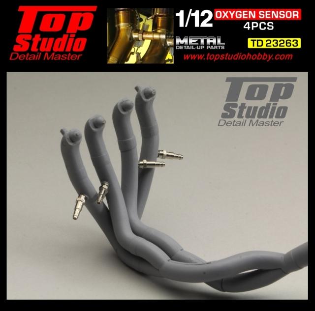 トップスタジオ 1/12 O2 Oxygen オキシゲン センサー 4個入 TD23263