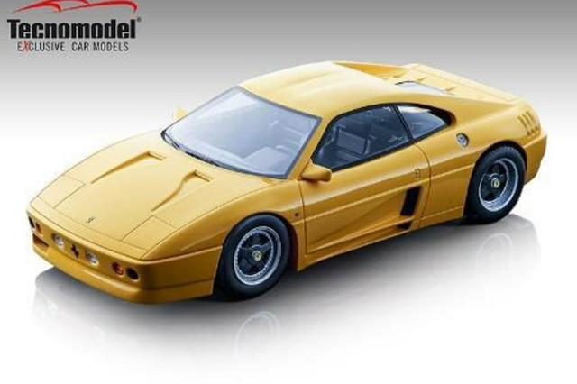 [予約] テクノモデル 1/18 フェラーリ 348 ザガート 1991 モデナイエロー TM18-131A