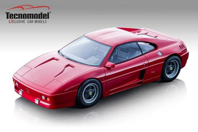 [予約] テクノモデル 1/18 フェラーリ 348 ザガート 1991 レッド TM18-131B