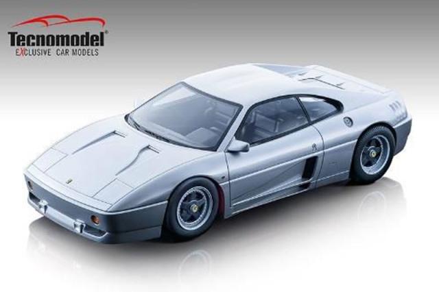 [予約] テクノモデル 1/18 フェラーリ 348 ザガート 1991 ニュルブルクリンクシルバー TM18-131C