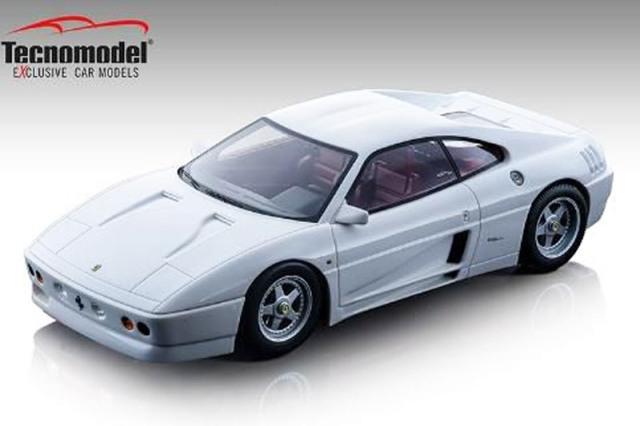 [予約] テクノモデル 1/18 フェラーリ 348 ザガート 1991 グロスホワイト TM18-131D