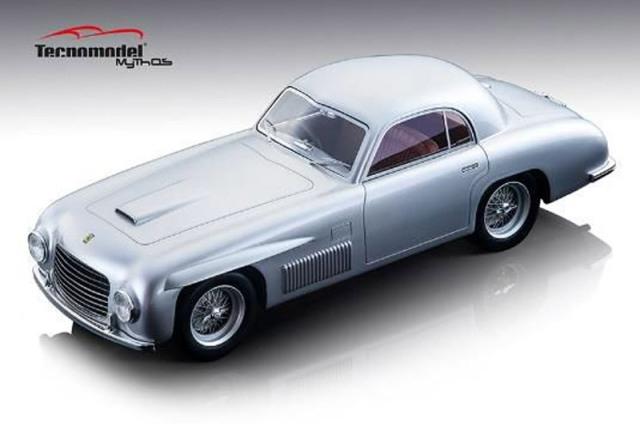 [予約] テクノモデル 1/18 フェラーリ 166 S クーペ アレマーノ 1948 ストリート メタリックシルバー TM18-155D
