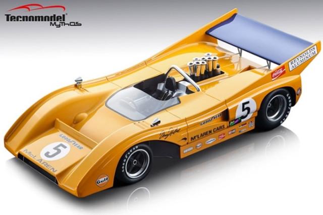 [予約] テクノモデル 1/18 マクラーレン M8F カンナム モスポーツ 1971 Winner No.5 TM18-156A