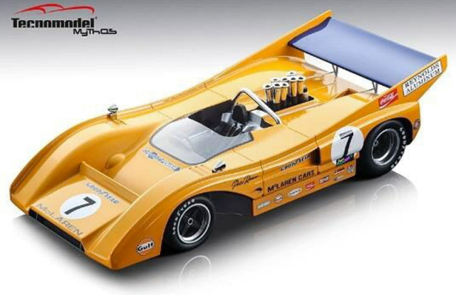[予約] テクノモデル 1/18 マクラーレン M8F カンナム ワトキンスグレン 1971 Winner No.7 TM18-156B