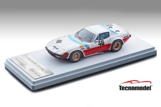 [予約] テクノモデル 1/43 フェラーリ GTB/4 ミケロッティ ルマン 24h 1975 No.46 TM43-10A