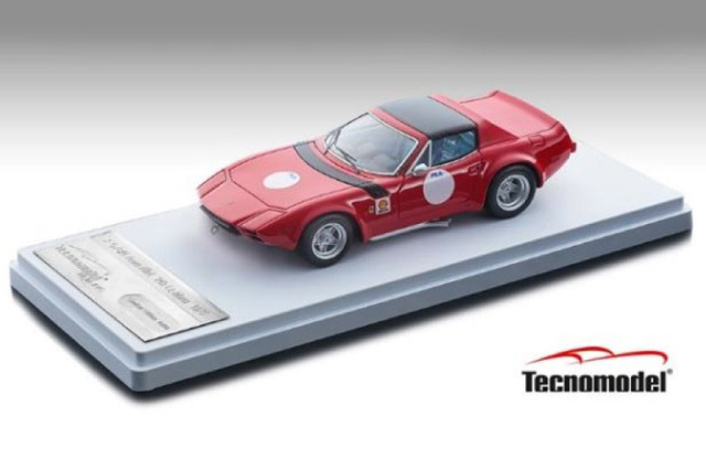 [予約] テクノモデル 1/43 フェラーリ GTB/4 ミケロッティ 1975 プレス レッドバージョン/ブラックルーフ TM43-10B