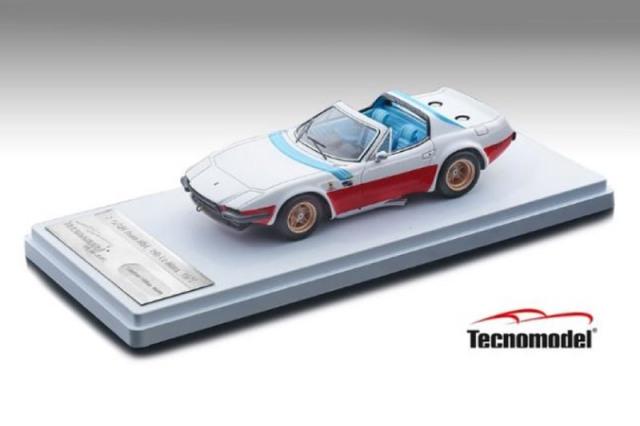 [予約] テクノモデル 1/43 フェラーリ GTB/4 ミケロッティ NART ルマン 1975 プレスバージョン オープンルーフ TM43-10C