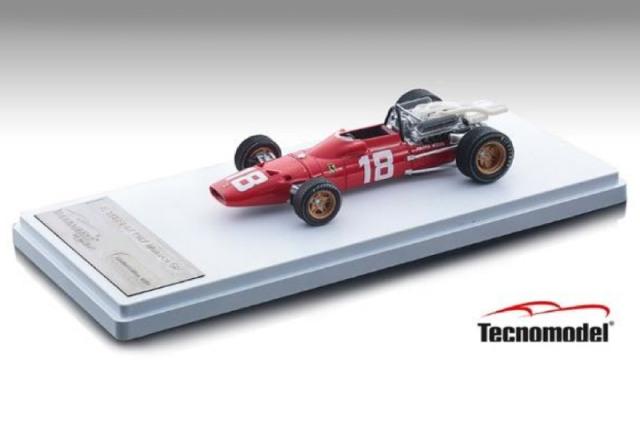 [予約] テクノモデル 1/43 フェラーリ 312 F1-67 モナコGP 1967 L.バンディーニ TM43-13A