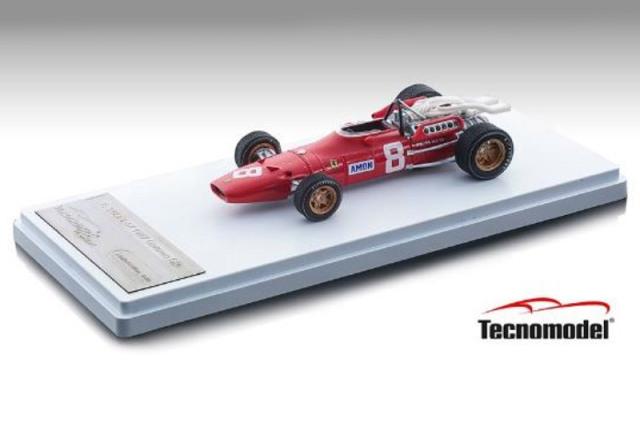 [予約] テクノモデル 1/43 フェラーリ 312 F1-67 ドイツGP 1967 C.アモン TM43-13B