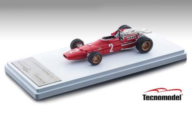 [予約] テクノモデル 1/43 フェラーリ 312 F1-67 イタリアGP 1967 C.アモン TM43-13C