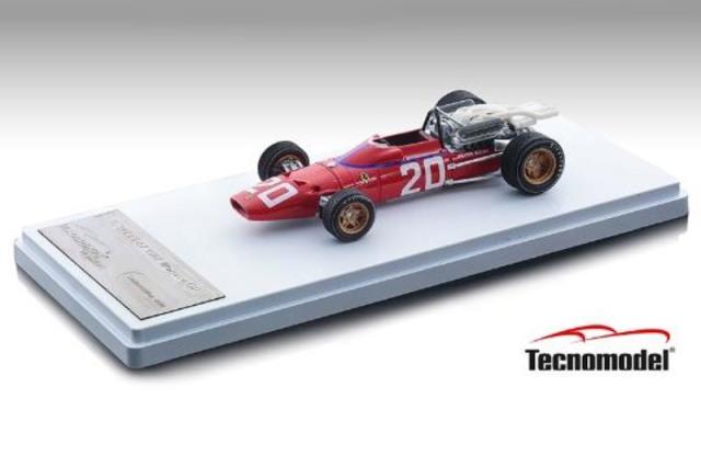 [予約] テクノモデル 1/43 フェラーリ 312 F1-67 モナコGP 1967 C.アモン TM43-13D