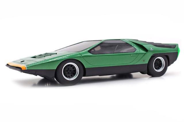 [予約] トップマルケス 1/43 アルファ ロメオ カラーボ 1968 グリーン TOP43013A