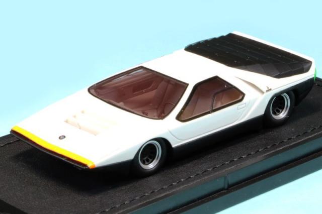 トップマルケス 1/43 アルファ ロメオ カラーボ 1968 ホワイト TOP43013B