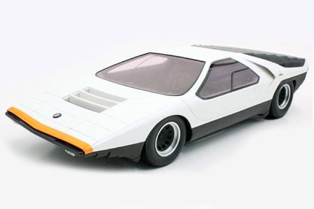 [予約] トップマルケス 1/43 アルファ ロメオ カラーボ 1968 ホワイト TOP43013B