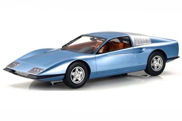 [予約] トップマルケス 1/43 フェラーリ P6 プロトタイプ ブルー TOP43015A