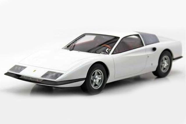 [予約] トップマルケス 1/43 フェラーリ P6 プロトタイプ ホワイト TOP43015C