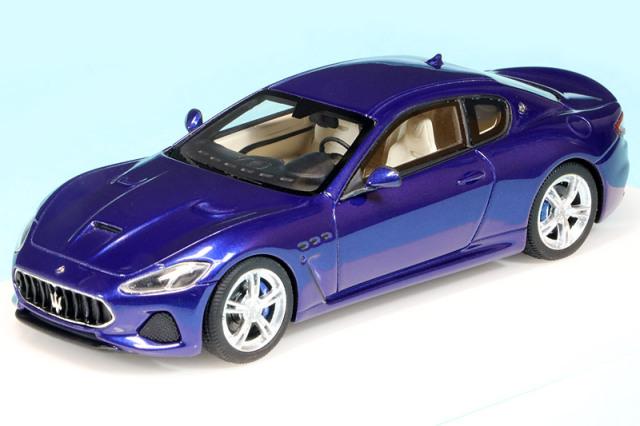 トゥルースケール 1/43 マセラティ グランツーリスモ MC ブルー TSM430397