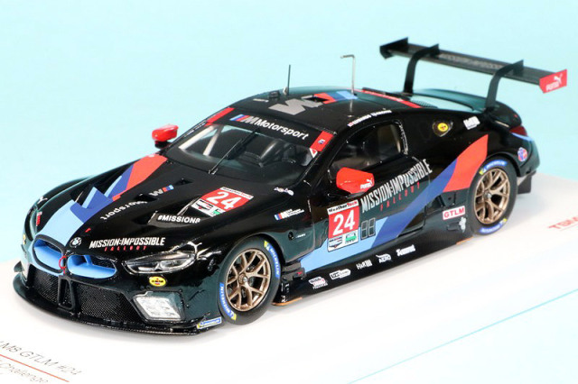 トゥルースケール 1/43 BMW M8 GTLM IMSA ミシュラン GT チャレンジ 2018 No.24 TSM430433