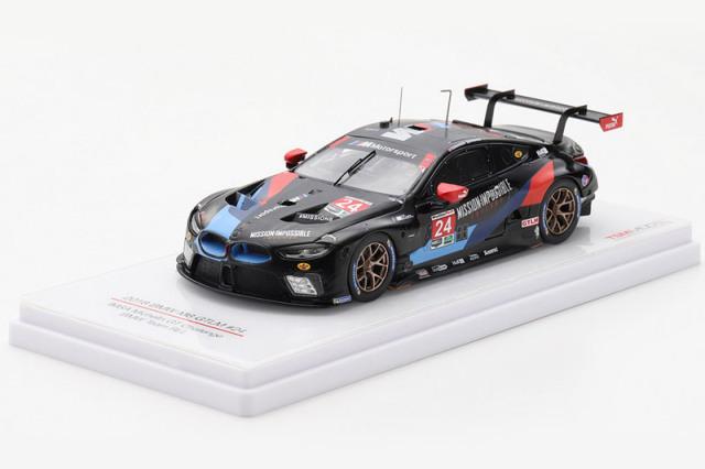 [予約] トゥルースケール 1/43 BMW M8 GTLM IMSA ミシュラン GT チャレンジ 2018 No.24 TSM430433