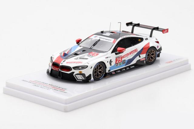 [予約] トゥルースケール 1/43 BMW M8 GTLM IMSA ミシュラン GT チャレンジ 2018 クラスWinner No.25 TSM430442