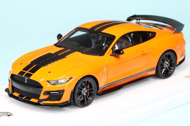 トゥルースケール 1/43 フォード マスタング シェルビー GT500 ツイスターオレンジ TSM430479