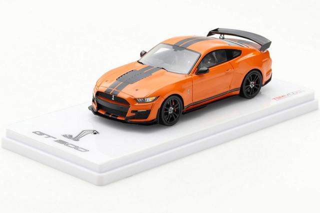 [予約] トゥルースケール 1/43 フォード マスタング シェルビー GT500 ツイスターオレンジ TSM430479