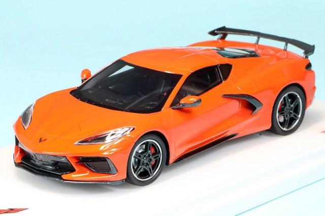 トゥルースケール 1/43 シボレー コルベット スティングレイ 2020 セブリング オレンジ ティンコート TSM430495