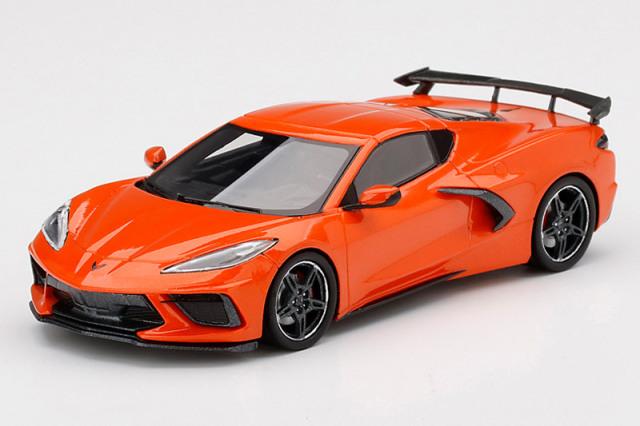 [予約] トゥルースケール 1/43 シボレー コルベット スティングレイ 2020 セブリング オレンジ ティンコート TSM430495