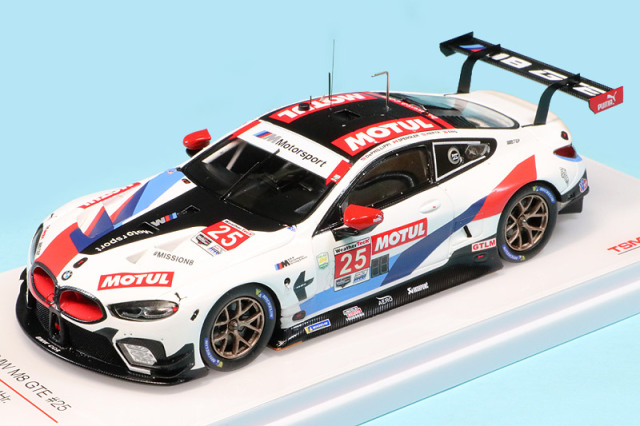 トゥルースケール 1/43 BMW M8 GTE デイトナ 24h 2020 No.25 TSM430515