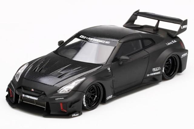[予約] トゥルースケール 1/43 LB-Silhouette WORKS GT ニッサン 35GT-RR Ver.1 マットブラック TSMV0009
