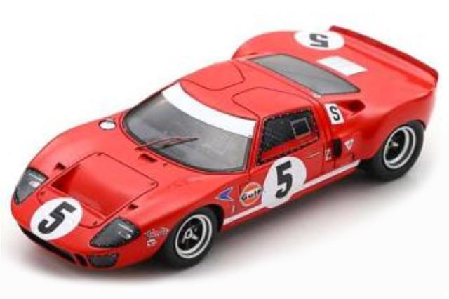 [予約] スパーク 1/43 フォード GT40 BOAC 6h 1968 4th No.5 UK009