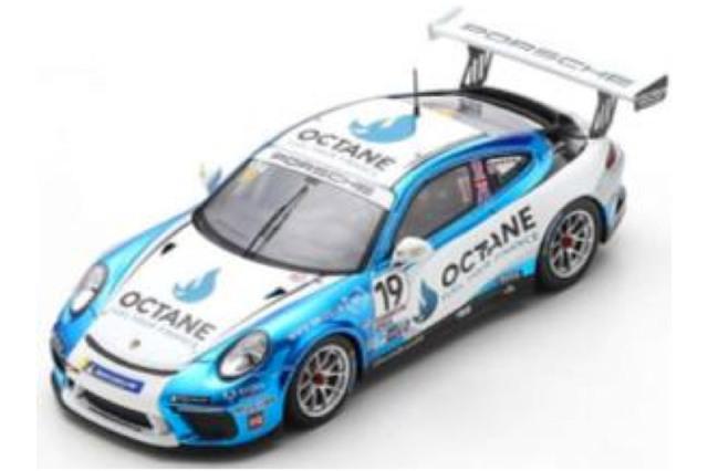 [予約] スパーク 1/43 ポルシェ 911 GT3 Cup カレラカップ イギリス 2020 チャンピオン No.19 UK011
