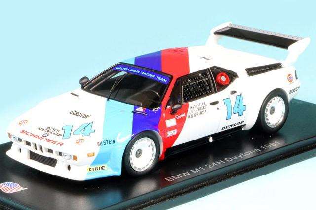 スパーク 1/43 BMW M1 デイトナ 24h 1981 No.14 US085