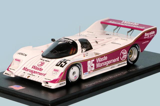 スパーク 1/43 ポルシェ 962 デル マー 2h 1987 Winner No.85 US086