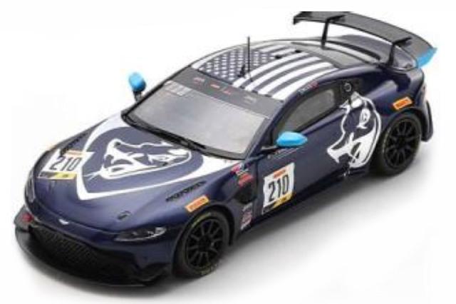 """[予約] スパーク 1/43 アストン マーチン ヴァンテージ GT4 ピレリ GT4 アメリカ オースティン 2020 No.210 """"Flying Lizard Motorsport 100th Podium"""" US106"""