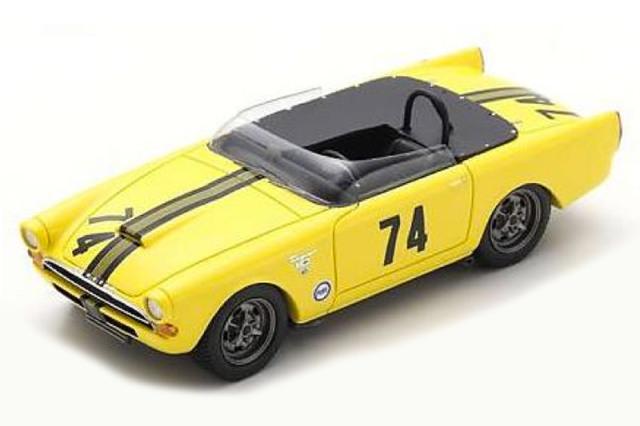 [予約] スパーク 1/43 サンビーム タイガー バジャー 200 1964 2nd No.74 US108