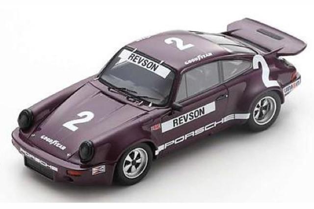 [予約] スパーク 1/43 ポルシェ RS 3.0 IROC デイトナ 1974 2nd No.2 US143