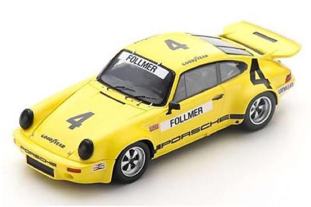 [予約] スパーク 1/43 ポルシェ RS 3.0 IROC デイトナ 1974 5th No.4 US145