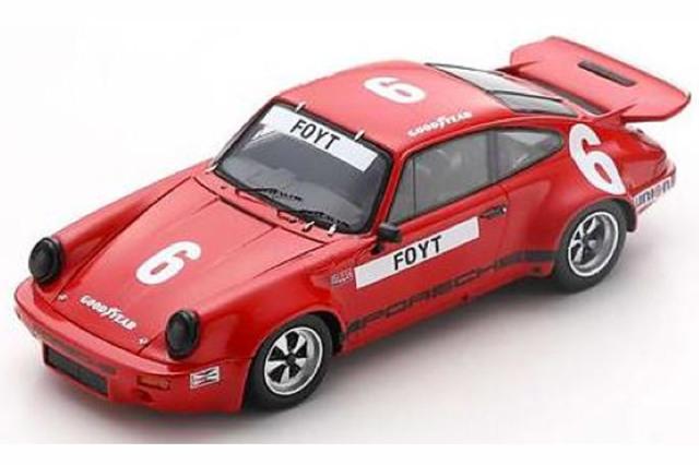 [予約] スパーク 1/43 ポルシェ RS 3.0 IROC デイトナ 1974 6th No.6 US147