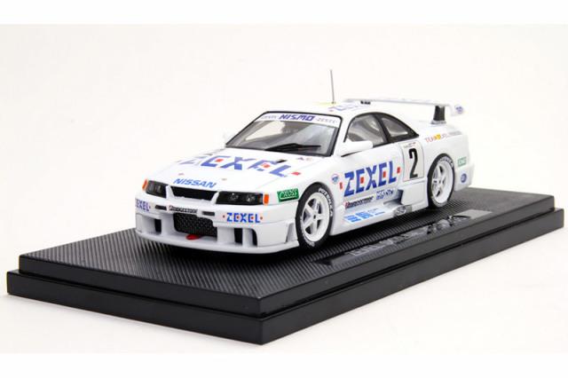 エブロ 1/43 ZEXEL スカイライン GT-R R33 JGTC 1996 No.2 43978 43978