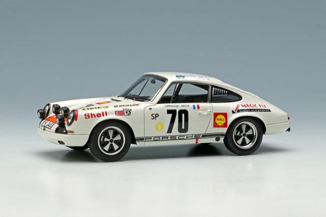 """[予約] ヴィジョン 1/43 ポルシェ 911 R """"ポルシェシステム"""" ツールドコルス 1969 ウィナー No.70 VM199"""