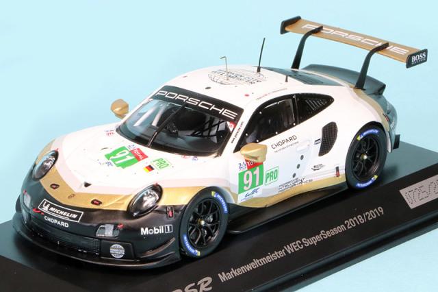 ポルシェ特注スパーク 1/43 ポルシェ 911 RSR 2019 プレゼンテーション No.911 WAP0201480LRSR