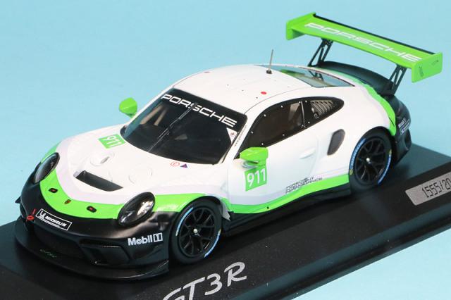 ポルシェ特注スパーク 1/43 ポルシェ 911 GT3 R 2019 プレゼンテーション No.911 WAP0209120K