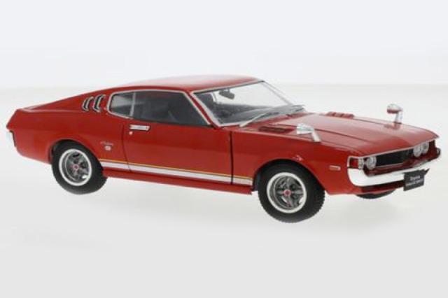 [予約] Whitebox 1/24 トヨタ セリカ LB 2000 GT 1973 レッド WB124081