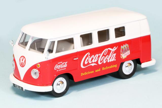 """コーギー 1/43 フォルクス ワーゲン キャンパー 1960 前期型 """"Coca Cola"""" CGCC02732"""
