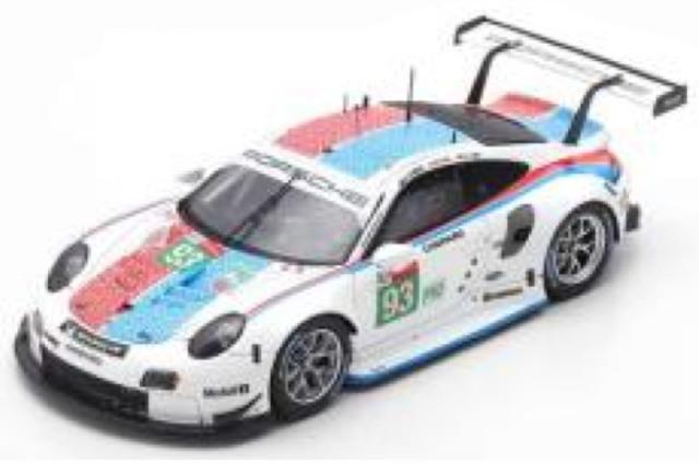 [予約] スパーク 1/64 ポルシェ 911 RSR ルマン 24h 2019 LMGTE Pro 3rd No.93 Y141