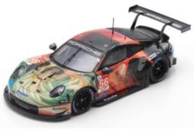 [予約] スパーク 1/64 ポルシェ 911 RSR ルマン 24h 2019 LMGTE Am Winner No.56 Y142