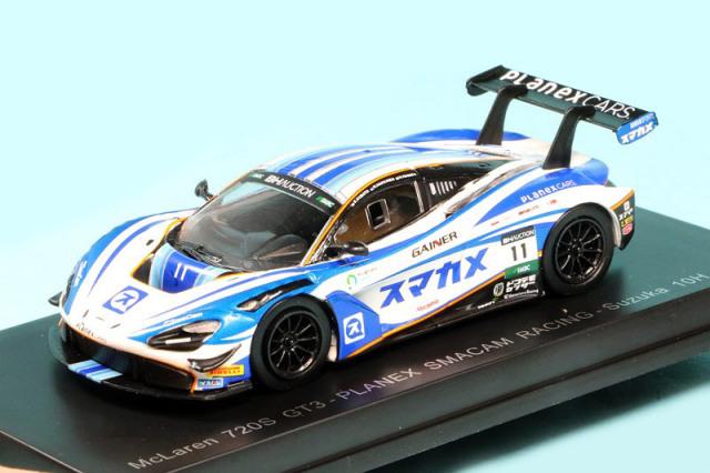 スパーク 1/64 マクラーレン 720S GT3 鈴鹿 10h 2019 No.11 Y162